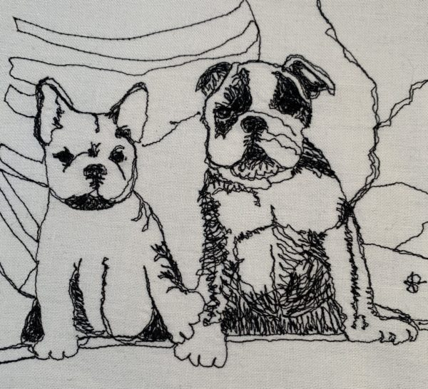 Two Bulldogs Pups