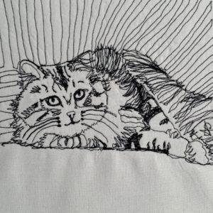 Caturday Big Stripe Tabby