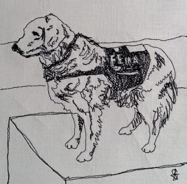 9/11 Rescue Dog Bretagne