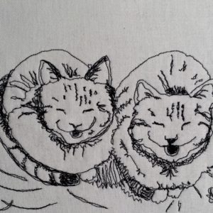 Caturday Two Smiling