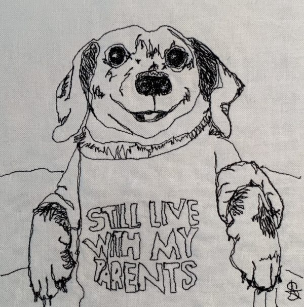 Dorothy's Dachsund in Sweater