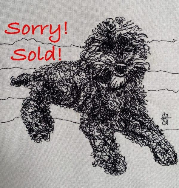Sold Poodle Tuxedo